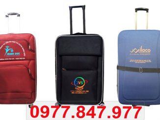Sản xuất vali vải theo yêu cầu