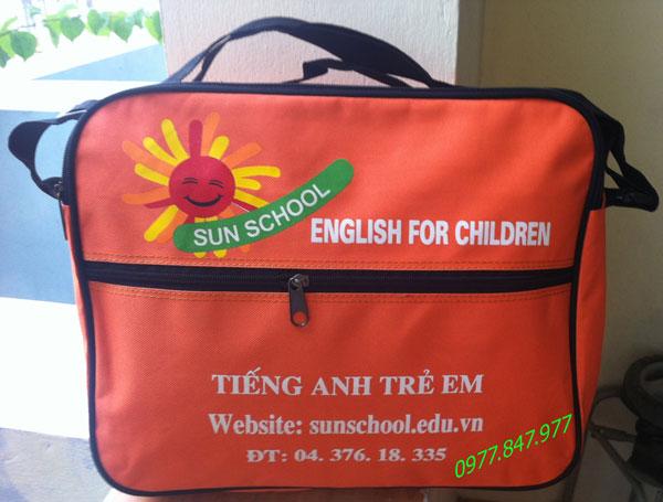Cặp chéo Sun School-sản xuất balo mầm non