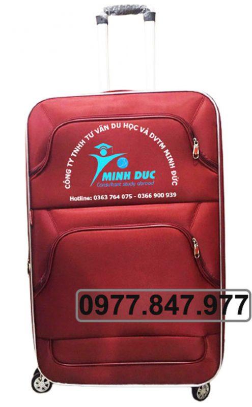 Sản xuất vali vải hợp đồng