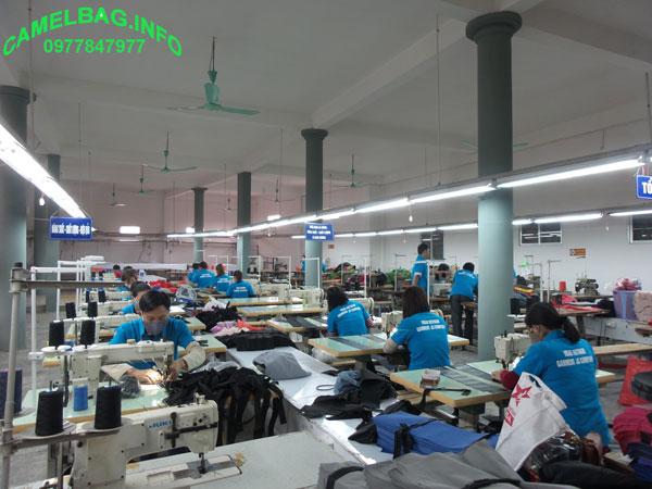 May balo theo yêu cầu tại Bắc Ninh